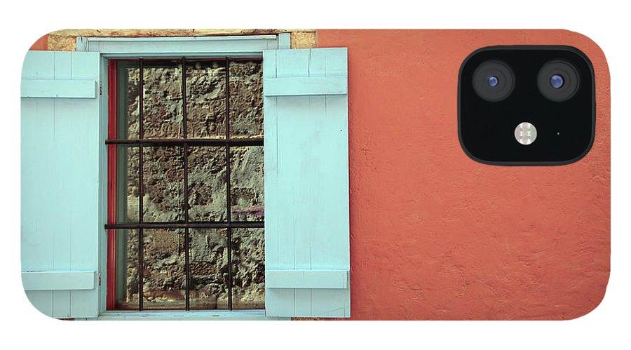 Greece IPhone 12 Case featuring the photograph Window by Maria Toutoudaki