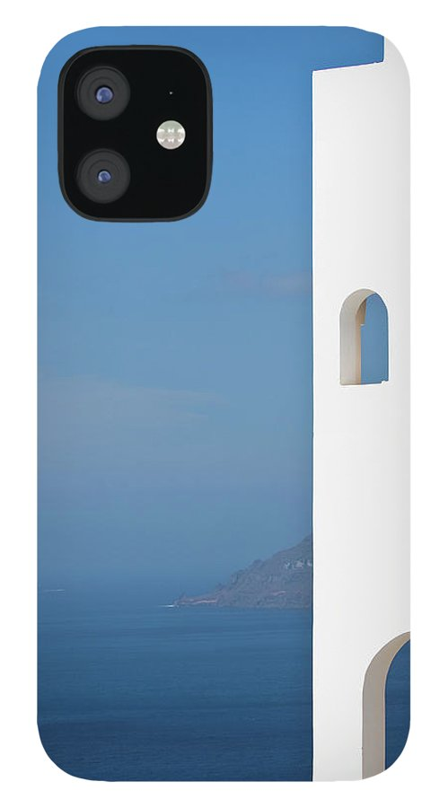 Greece IPhone 12 Case featuring the photograph Windows To The Blue by Arturbo