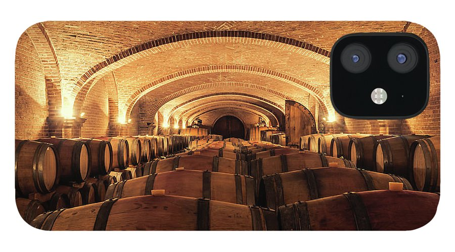 Arch IPhone 12 Case featuring the photograph Wine Cellar by Alexd75