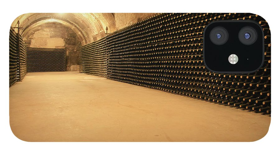 Arch IPhone 12 Case featuring the photograph Wine Cellar by Manuelvelasco