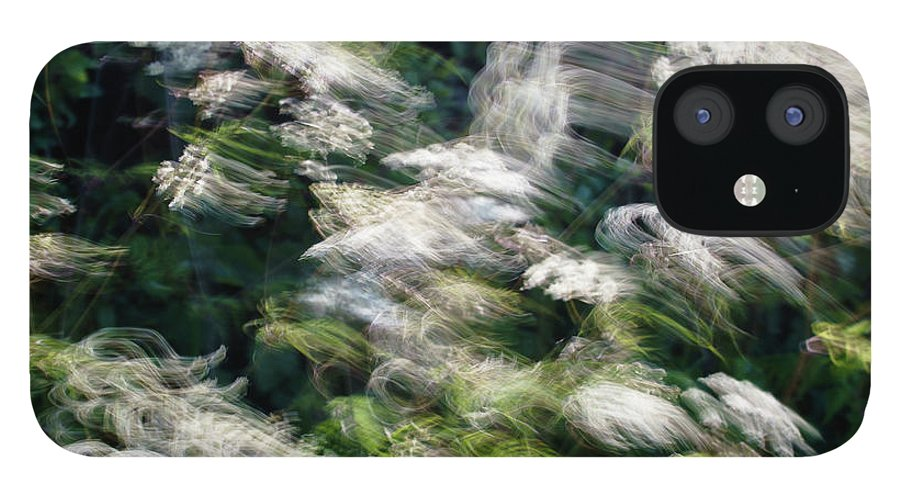 Hedgerow iPhone 12 Case featuring the photograph Dancing Hedgerow by Bear R Humphreys