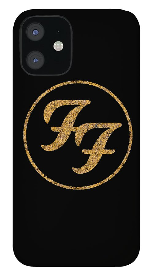 Social Distortion IPhone 12 Case featuring the digital art Foo fighters by June Robert