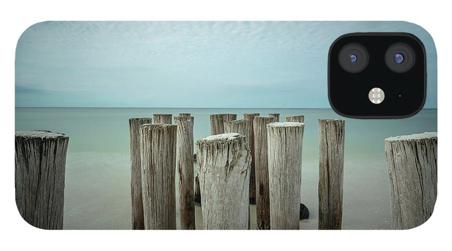 Naples Florida 2021 IPhone 12 Case featuring the photograph Naples Pilings 2021 by Joey Waves