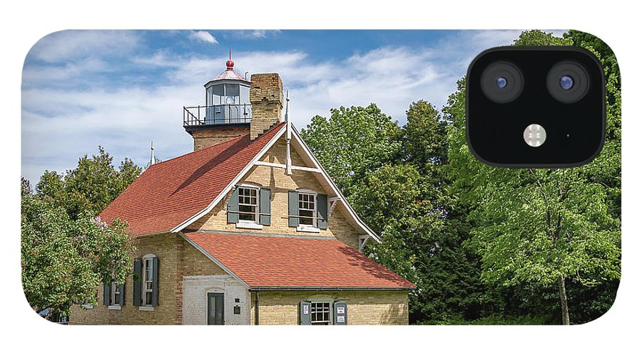 Lighthouse IPhone 12 Case featuring the photograph 20-0608-0070 by Anthony Roma