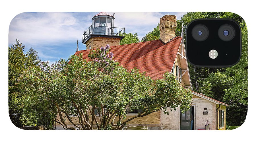 Lighthouse IPhone 12 Case featuring the photograph 20-0608-0071 by Anthony Roma