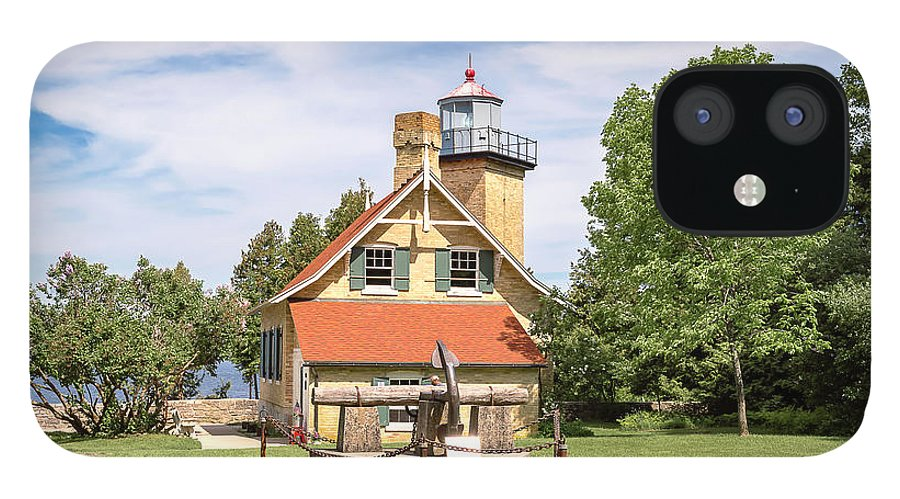 Lighthouse IPhone 12 Case featuring the photograph 20-0608-0078 by Anthony Roma