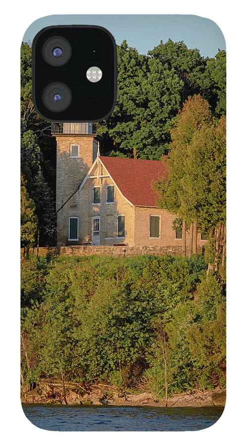 Lighthouse IPhone 12 Case featuring the photograph 20-0608-0168 by Anthony Roma