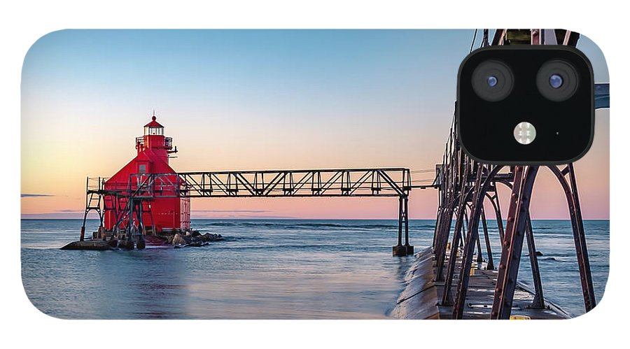 Lighthouse IPhone 12 Case featuring the photograph 20-0611-0369 by Anthony Roma