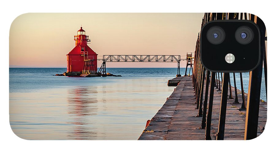 Lighthouse IPhone 12 Case featuring the photograph 20-0611-0393 by Anthony Roma