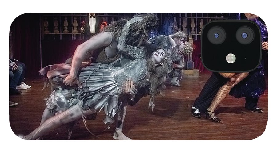 Adams Family IPhone 12 Case featuring the photograph Adams Family Dance by Alan D Smith