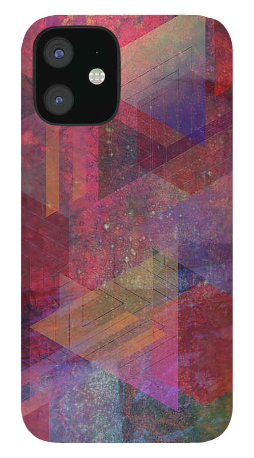 Another Place iPhone 12 Case featuring the digital art Another Place by Studio B Prints