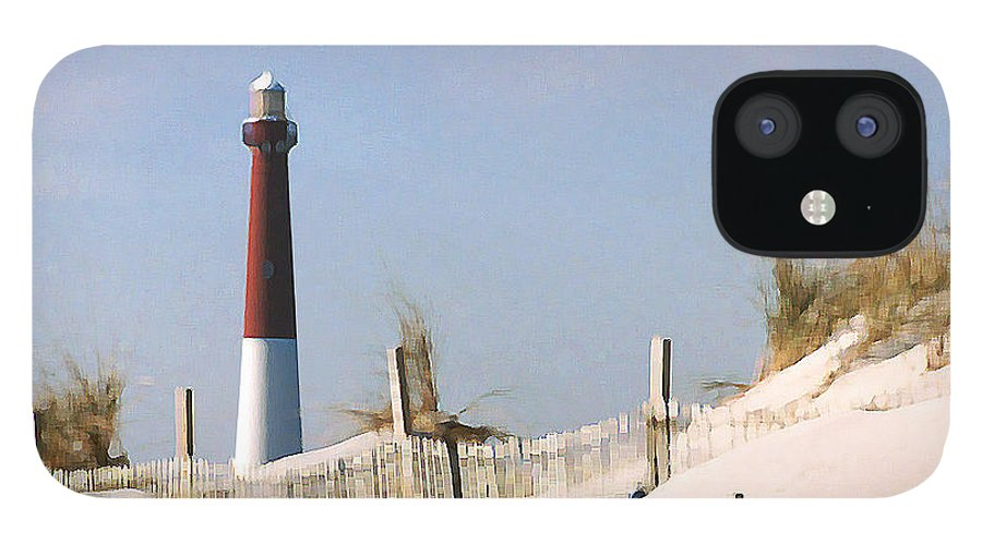 Barnegat IPhone 12 Case featuring the photograph Barnegat Lighthouse by Steve Karol