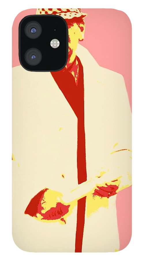 Bear Bryant IPhone 12 Case featuring the painting Bear Bryant by Jack Bunds
