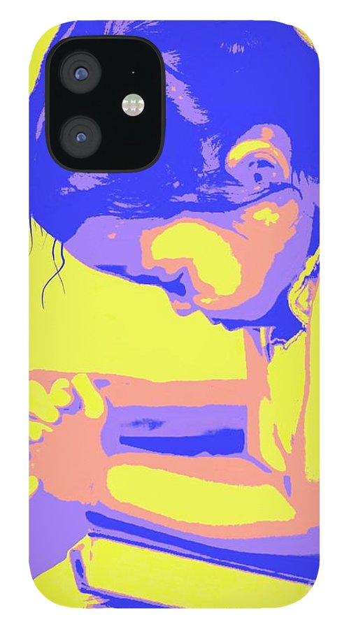 Prayer iPhone 12 Case featuring the painting Child Praying 1 by Jack Bunds