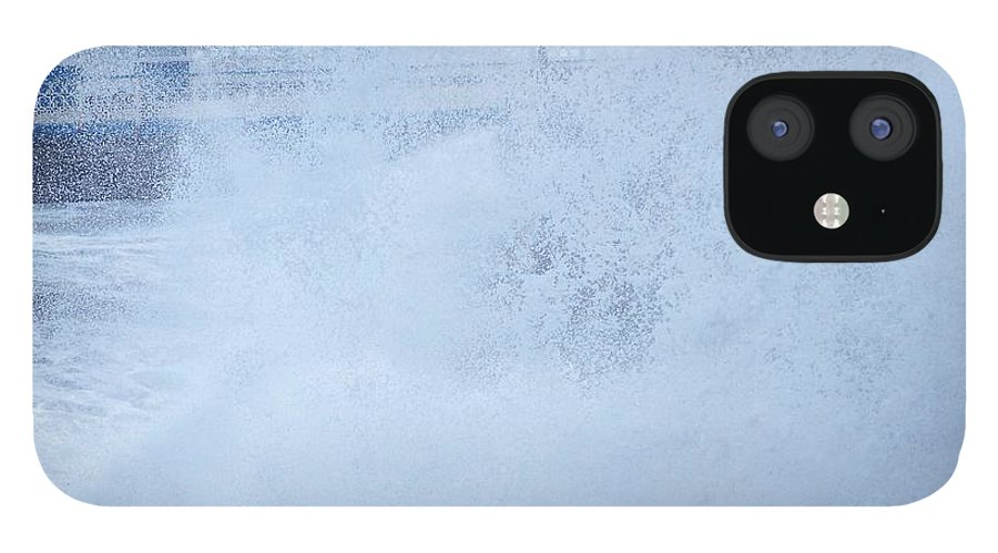 Waves IPhone 12 Case featuring the photograph Close one by Christopher Rowlands