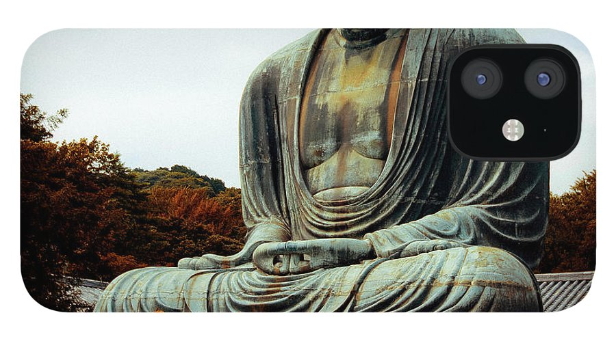 Nate Spotts IPhone 12 Case featuring the photograph Daibutsu by Nathan Spotts