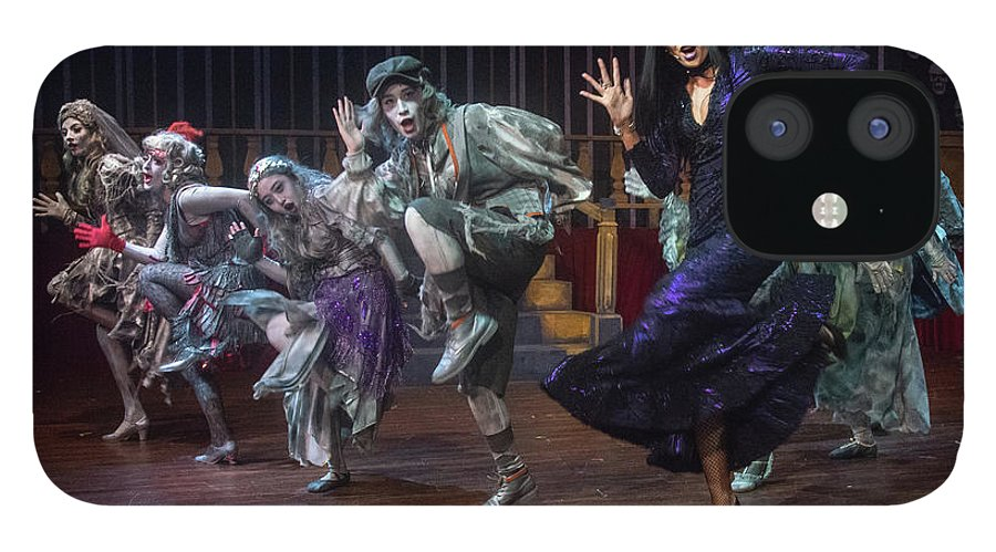 Adams Family IPhone 12 Case featuring the photograph Dance With The Relatives by Alan D Smith
