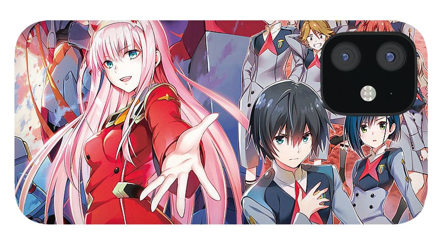 Anime IPhone 12 Case featuring the digital art Darling In The Franxx by Hilmi Abdul Azis Firmansyah