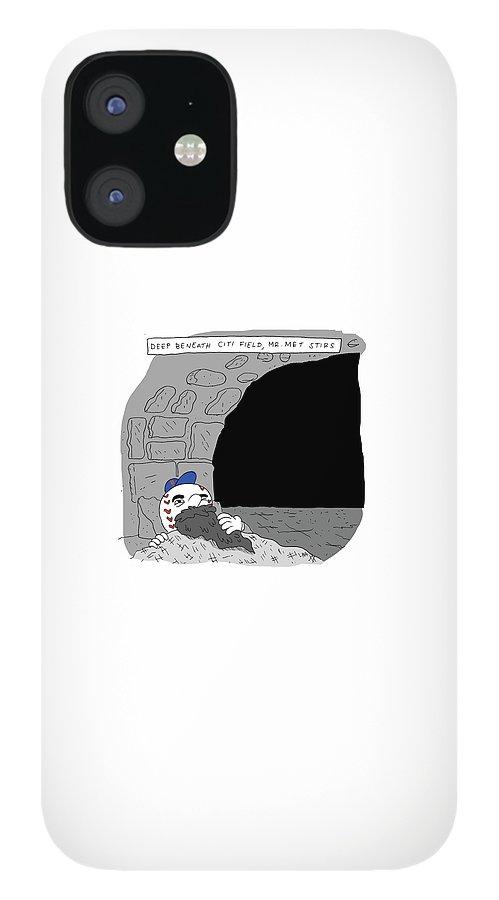 Deep Beneath Citi Field iPhone 12 Case