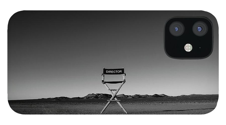 IPhone 12 Case featuring the photograph Director's Cut by Brendan North