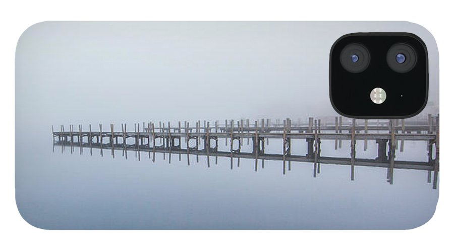 Docks IPhone 12 Case featuring the photograph Docks by Trevor Slauenwhite