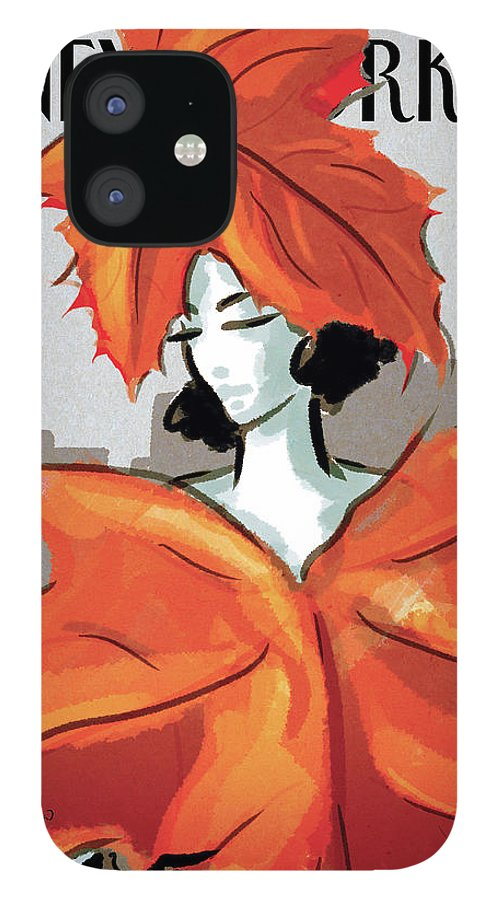 Dressing For Fall IPhone 12 Case