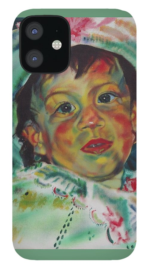 Easter Morning IPhone 12 Case featuring the painting Easter by Sean Connolly