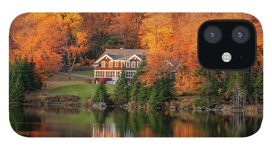 Fall IPhone 12 Case featuring the photograph Fall Foliage Dixville Notch New Hampshire by Trevor Slauenwhite