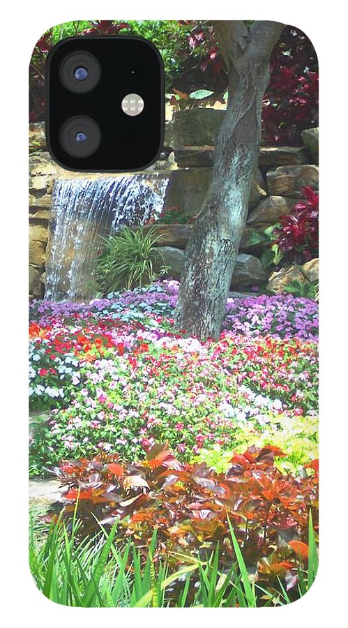 Garden IPhone 12 Case featuring the photograph Floral Garden by Pharris Art