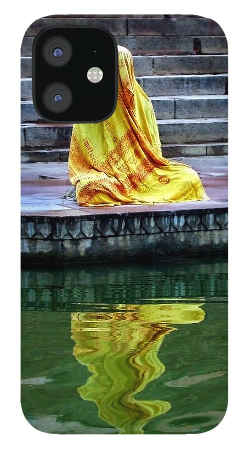 Meditate IPhone 12 Case featuring the photograph Ganga Dream by Skip Hunt