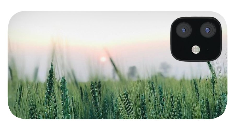 Lanscape IPhone 12 Case featuring the photograph Greenery by Prashant Dalal