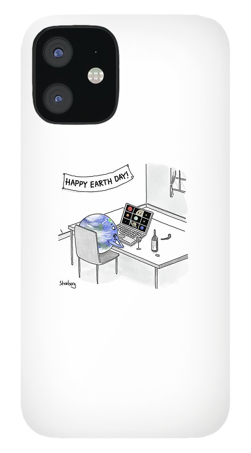 Happy Earth Day iPhone 12 Case