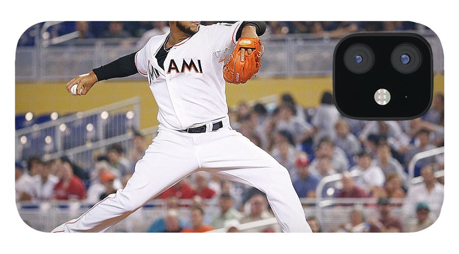 American League Baseball IPhone 12 Case featuring the photograph Henderson Alvarez by Rob Foldy