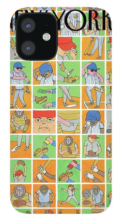 Inside Baseball IPhone 12 Case