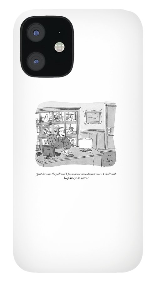 Keeping An Eye On Them IPhone 12 Case