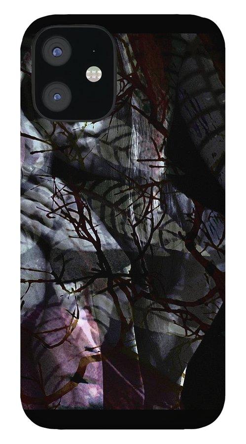 Woman IPhone 12 Case featuring the digital art Luna by Gunilla Munro Gyllenspetz