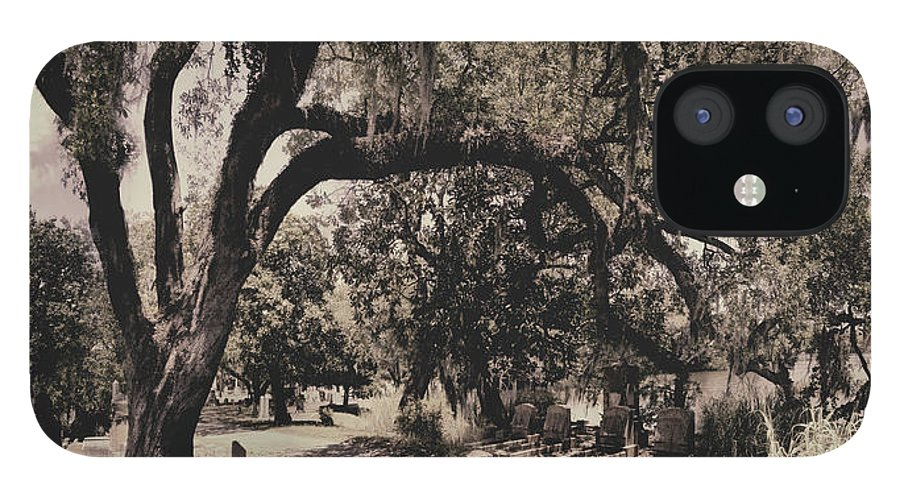 Castle iPhone 12 Case featuring the photograph Magnolia Cemetery by James Christopher Hill