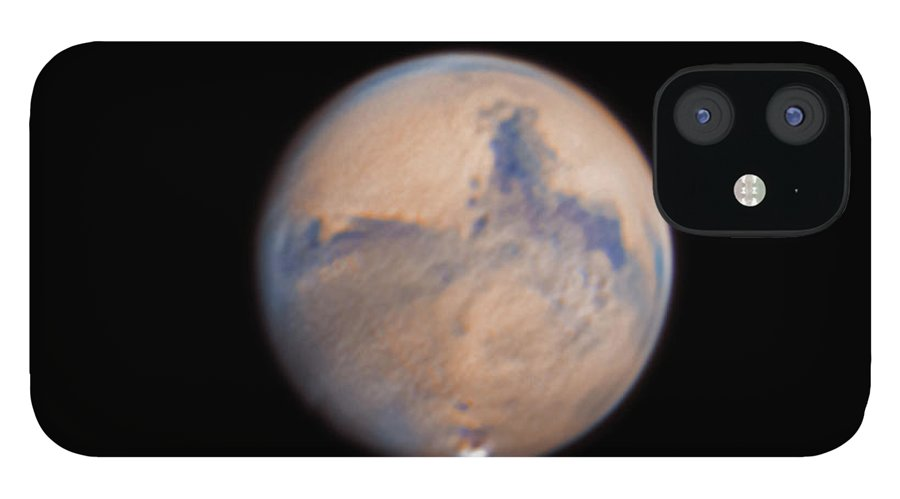 Mars IPhone 12 Case featuring the photograph Mars from 31st October 2020 by Prabhu Astrophotography