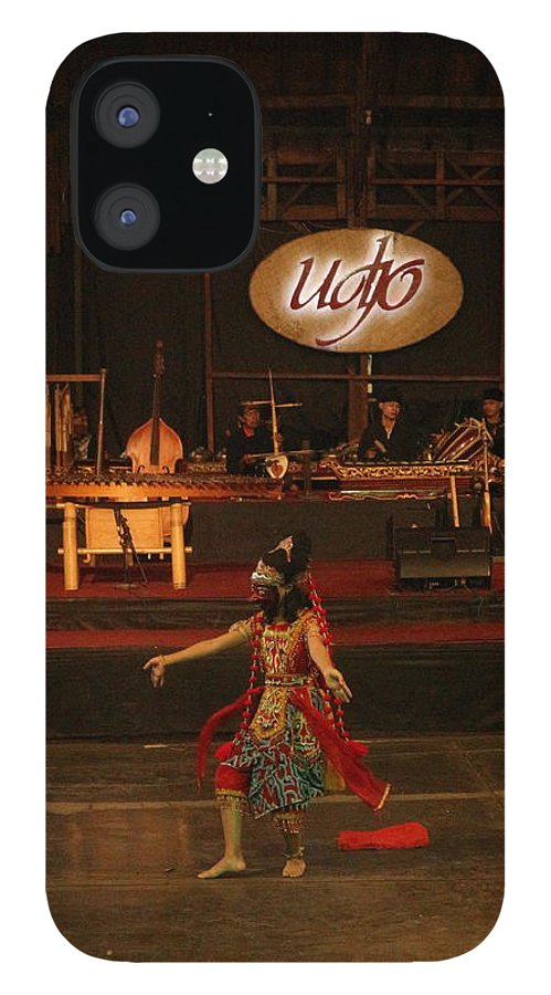Dance IPhone 12 Case featuring the photograph Mask Dance by Lingga Tiara Setiadi