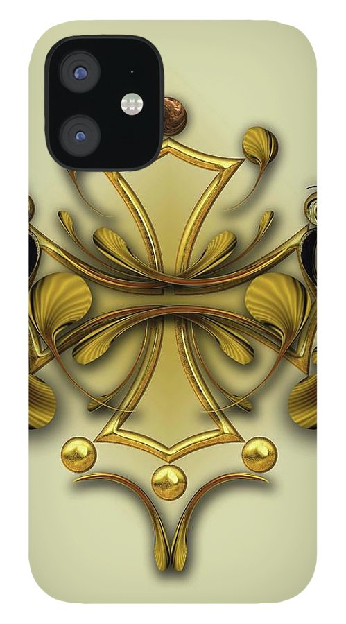Abstract Photography IPhone Case featuring the digital art Ode To Pure Significance by Carmen Fine Art