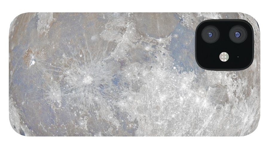 Fullmoon IPhone 12 Case featuring the photograph October 2020 Halloween Full/Blue Moon by Prabhu Astrophotography