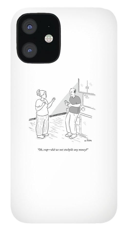 Oh, Crap IPhone 12 Case
