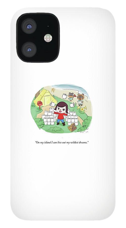 On My Island IPhone 12 Case