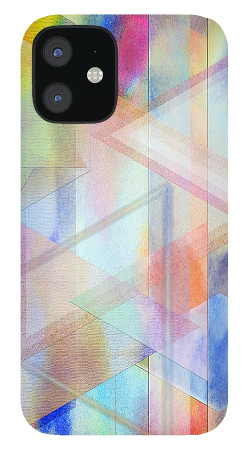 Pastoral Moment IPhone 12 Case featuring the digital art Pastoral Moment by John Robert Beck