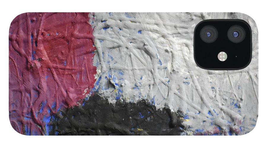 Colorado IPhone 12 Case featuring the painting Patchwork by Pam Roth O'Mara