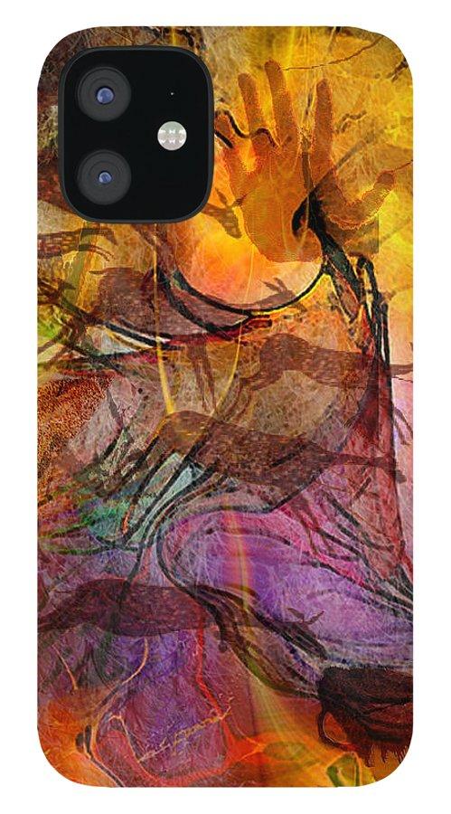 Shadow Hunters IPhone 12 Case featuring the digital art Shadow Hunters by John Robert Beck