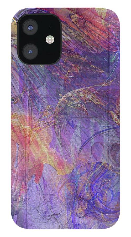 Summer Awakes IPhone 12 Case featuring the digital art Summer Awakes by John Robert Beck