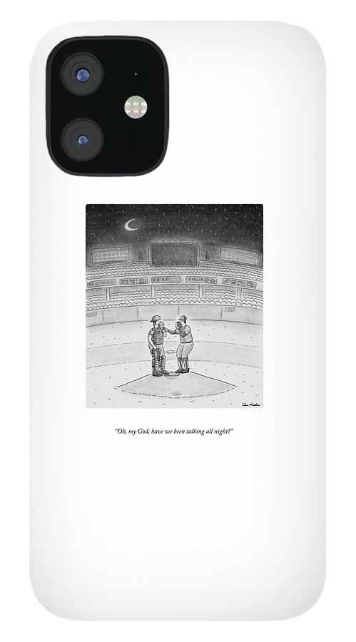 Talking All Night iPhone 12 Case