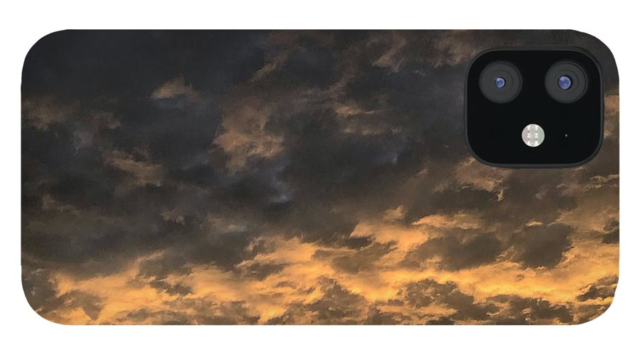 IPhone 12 Case featuring the photograph Texas Storm Clouds by Jose Machin