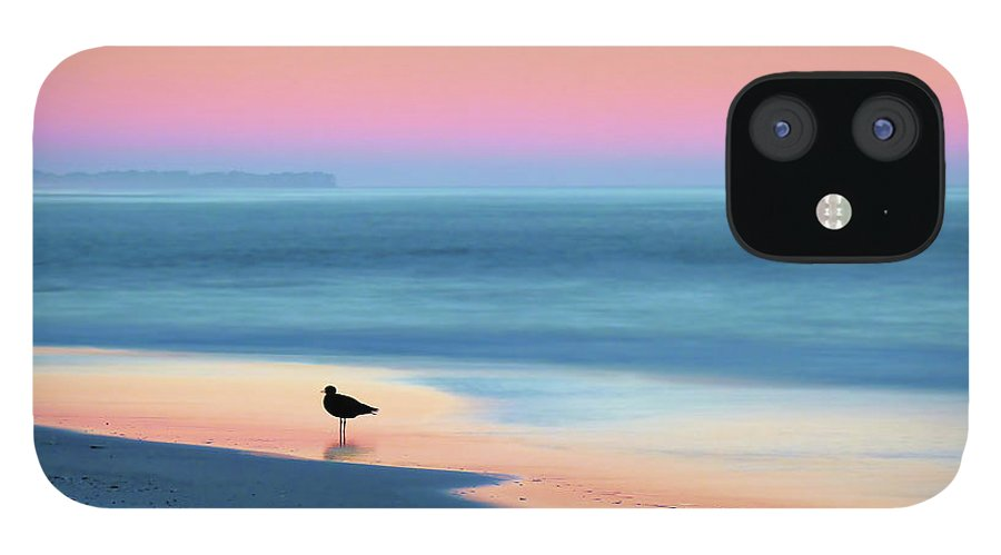 Beach iPhone 12 Case featuring the photograph The Day Begins by JC Findley